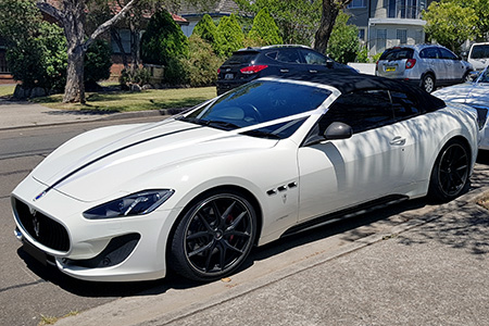Maserati - Perfection Wedding Cars Australia